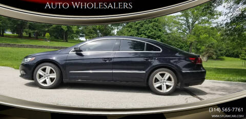 2013 Volkswagen CC for sale at Auto Wholesalers in Saint Louis MO