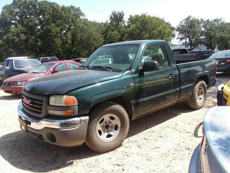 2004 GMC Sierra 1500 for sale at KK Motors Inc in Graham TX