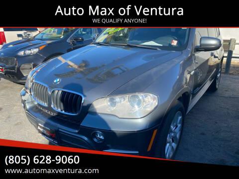 2013 BMW X5 for sale at Auto Max of Ventura in Ventura CA