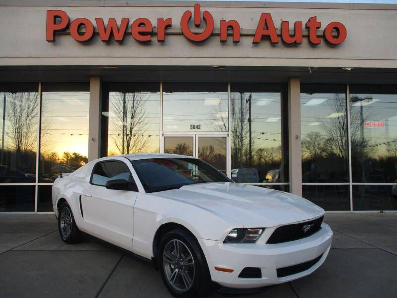 2011 Ford Mustang for sale at Power On Auto LLC in Monroe NC