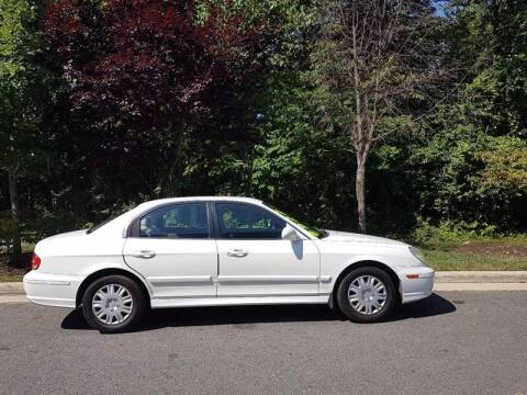 2005 Hyundai Sonata for sale at M & M Auto Brokers in Chantilly VA