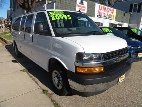 2018 Chevrolet Express Passenger for sale at Uno's Auto Sales in Milwaukee WI