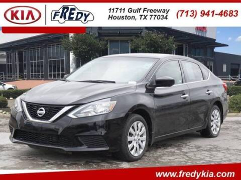 2017 Nissan Sentra for sale at FREDYS CARS FOR LESS in Houston TX