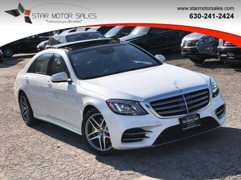 2018 Mercedes-Benz S-Class for sale at Star Motor Sales in Downers Grove IL
