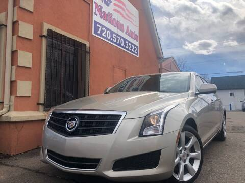 2013 Cadillac ATS for sale at Nations Auto Inc. II in Denver CO