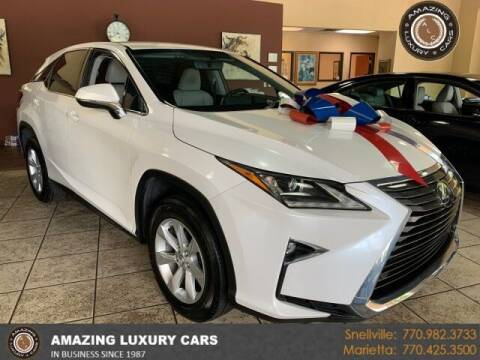 2016 Lexus RX 350 for sale at Amazing Luxury Cars in Snellville GA