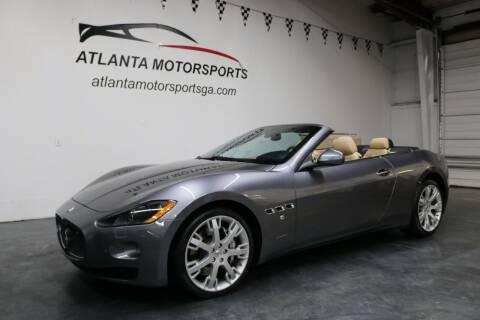 2011 Maserati GranTurismo for sale at Atlanta Motorsports in Roswell GA