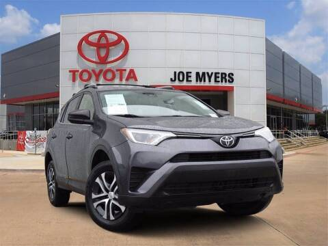 2017 Toyota RAV4 for sale at Joe Myers Toyota PreOwned in Houston TX