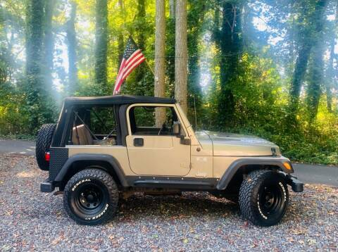 2005 Jeep Wrangler for sale at New Wave Auto of Vineland in Vineland NJ