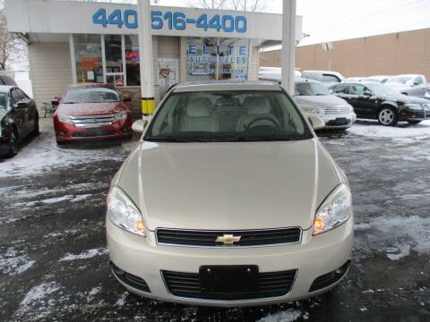 2011 Chevrolet Impala for sale at Elite Auto Sales in Willowick OH