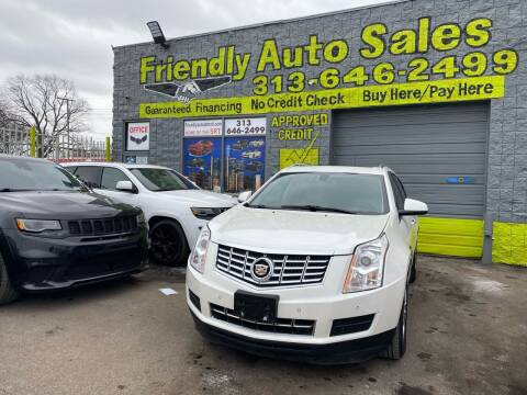 2013 Cadillac SRX for sale at Friendly Auto Sales in Detroit MI