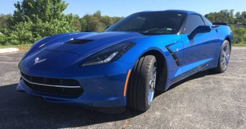 2014 Chevrolet Corvette for sale at Its Alive Automotive in Saint Louis MO