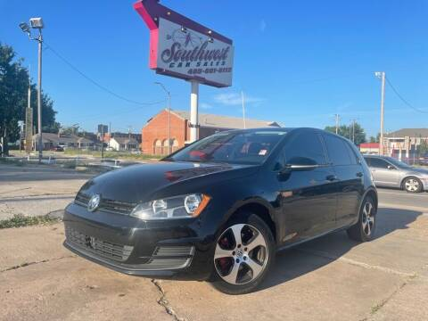 2017 Volkswagen Golf for sale at Southwest Car Sales in Oklahoma City OK