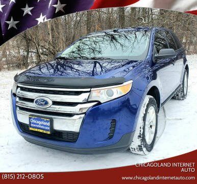2013 Ford Edge for sale at Chicagoland Internet Auto - 410 N Vine St New Lenox IL, 60451 in New Lenox IL