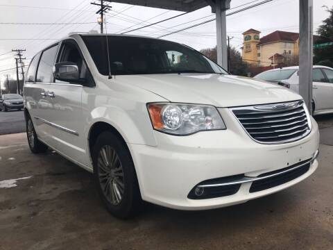 2013 Chrysler Town and Country for sale at Auto Smart Charlotte in Charlotte NC