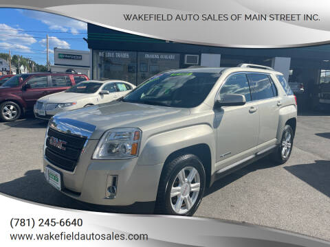 2014 GMC Terrain for sale at Wakefield Auto Sales of Main Street Inc. in Wakefield MA