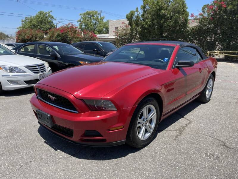 2013 Ford Mustang for sale at AutoHaus Loma Linda in Loma Linda CA