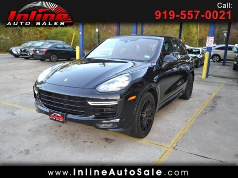 2016 Porsche Cayenne for sale at Inline Auto Sales in Fuquay Varina NC