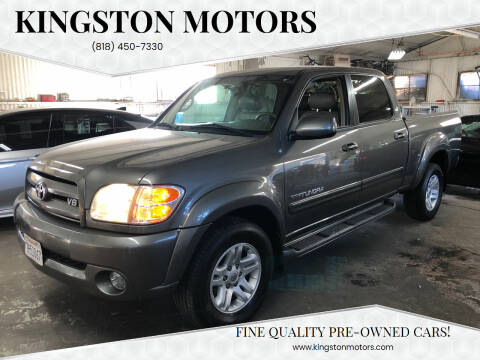 2004 Toyota Tundra for sale at Kingston Motors in North Hollywood CA