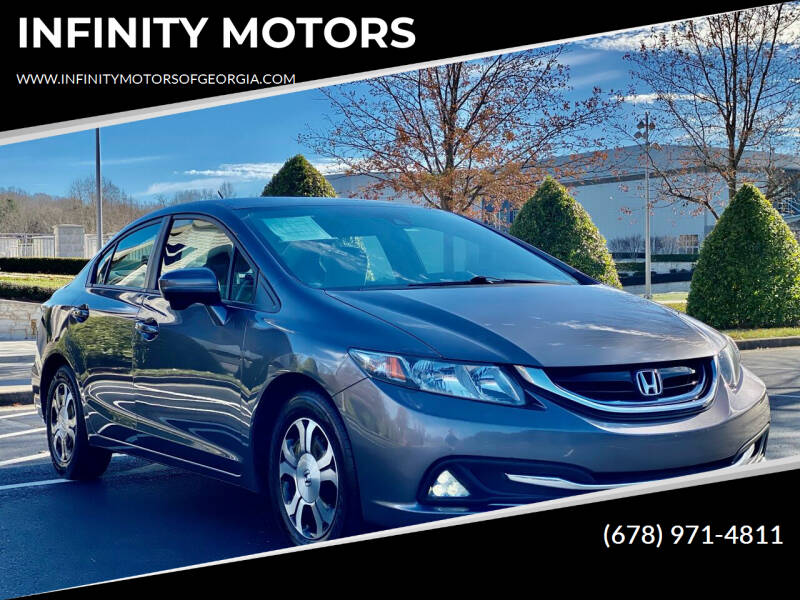 2014 Honda Civic for sale at INFINITY MOTORS in Gainesville GA
