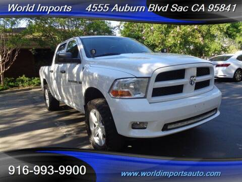 2012 RAM Ram Pickup 1500 for sale at World Imports in Sacramento CA