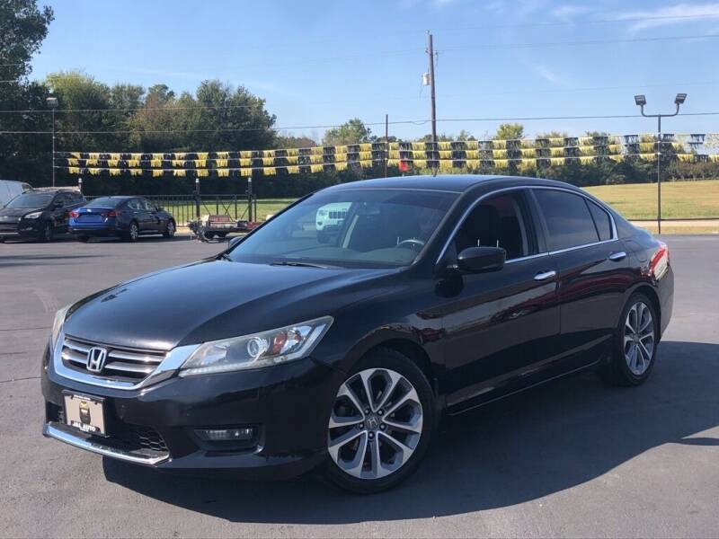 2014 Honda Accord for sale at J & L AUTO SALES in Tyler TX