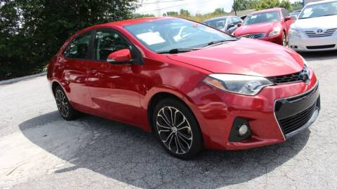 2014 Toyota Corolla for sale at NORCROSS MOTORSPORTS in Norcross GA