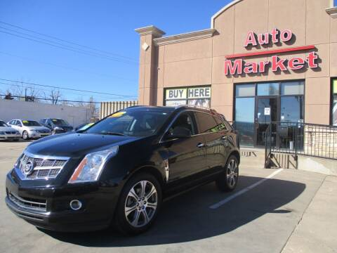 2012 Cadillac SRX for sale at Auto Market in Oklahoma City OK