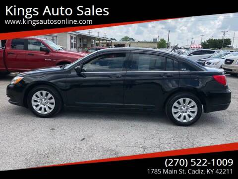 2014 Chrysler 200 for sale at Kings Auto Sales in Cadiz KY