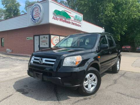 2008 Honda Pilot for sale at GMA Automotive Wholesale in Toledo OH