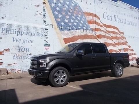 2016 Ford F-150 for sale at LARRY'S CLASSICS in Skiatook OK