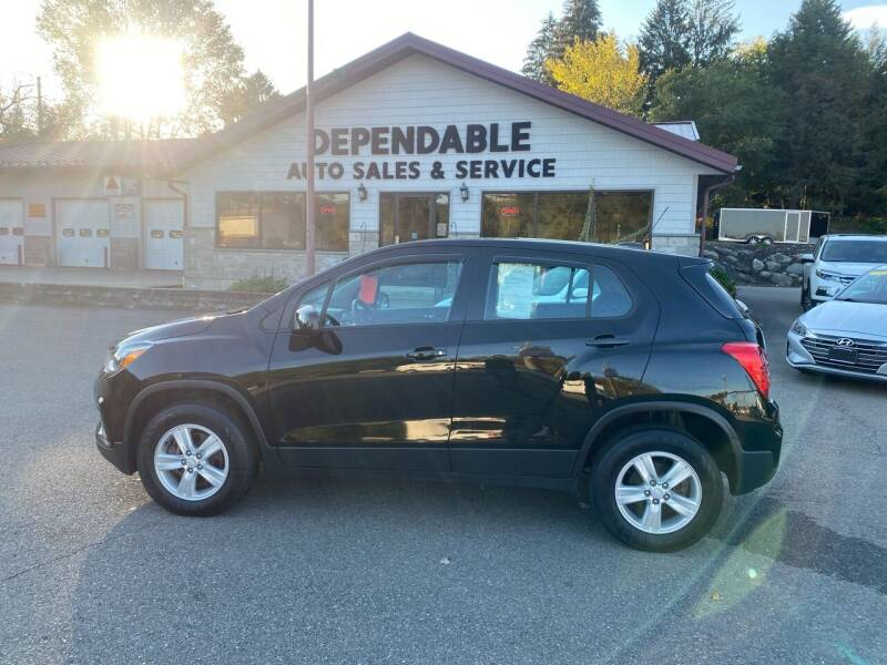 2017 Chevrolet Trax for sale at Dependable Auto Sales and Service in Binghamton NY