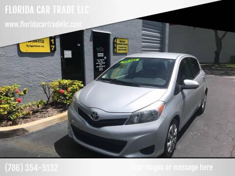 2014 Toyota Yaris for sale at FLORIDA CAR TRADE LLC in Davie FL