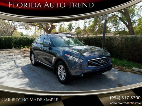 2011 Infiniti FX35 for sale at Florida Auto Trend in Plantation FL