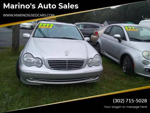 2004 Mercedes-Benz C-Class for sale at Marino's Auto Sales in Laurel DE