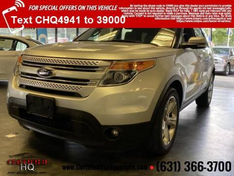2015 Ford Explorer for sale at CERTIFIED HEADQUARTERS in Saint James NY