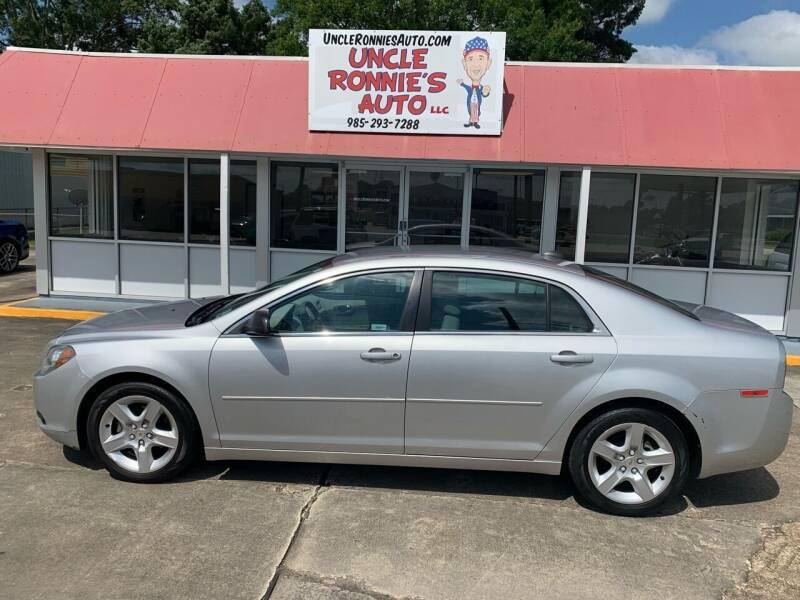 2012 Chevrolet Malibu for sale at Uncle Ronnie's Auto LLC in Houma LA