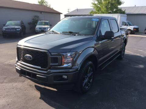 2018 Ford F-150 for sale at JACK'S AUTO SALES in Traverse City MI