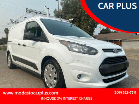 2015 Ford Transit Connect Cargo for sale at CAR PLUS in Modesto CA