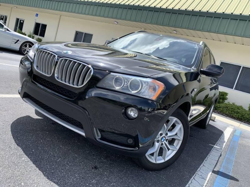 2011 BMW X3 for sale at Fisher Motor Group LLC in Bradenton FL