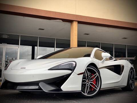 2018 McLaren 570GT for sale at FALCON AUTO BROKERS LLC in Orlando FL