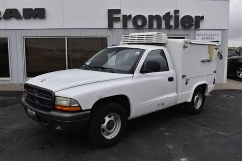 2002 Dodge Dakota for sale at Frontier Motors Automotive, Inc. in Winner SD