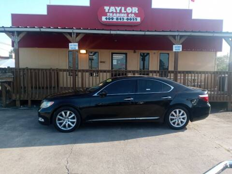 2008 Lexus LS 460 for sale at Taylor Trading Co in Beaumont TX
