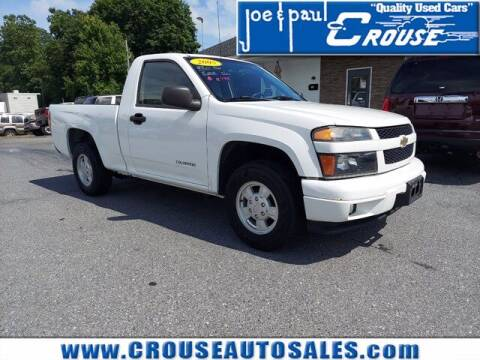 2005 Chevrolet Colorado for sale at Joe and Paul Crouse Inc. in Columbia PA