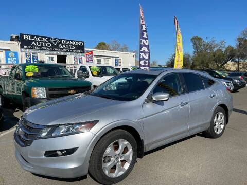 2012 Honda Crosstour for sale at Black Diamond Auto Sales Inc. in Rancho Cordova CA