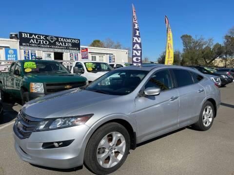 2012 Honda Crosstour for sale at Black Diamond Auto Sales Inc. in Rancho Cordova CA