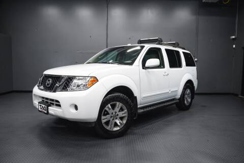 2010 Nissan Pathfinder for sale at TOPLINE AUTO GROUP in Kent WA
