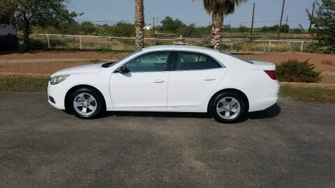 2015 Chevrolet Malibu for sale at Ryan Richardson Motor Company in Alamogordo NM