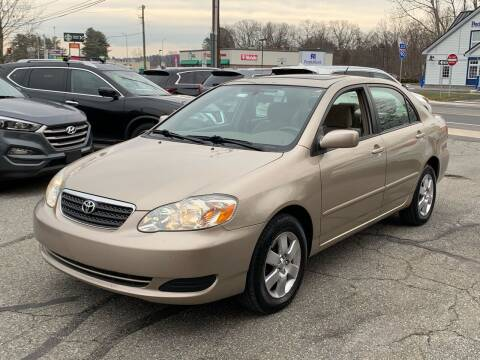 2006 Toyota Corolla for sale at Ludlow Auto Sales in Ludlow MA