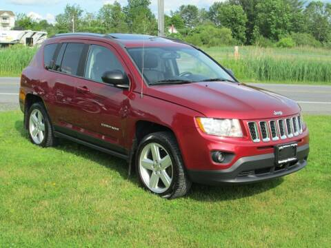 2012 Jeep Compass for sale at Saratoga Motors in Gansevoort NY